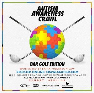 downtown san diego gaslamp quarter autism awareness crawl