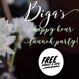 BIGA Happy Hour Launch Party