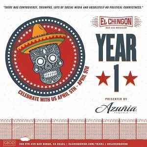 El Chingon 1 year anniversary
