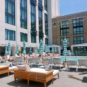 downtown san diego gaslamp quarter the pool house