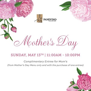 Downtown San Diego Gaslamp Quarter Mother's Day Osteria Panevino