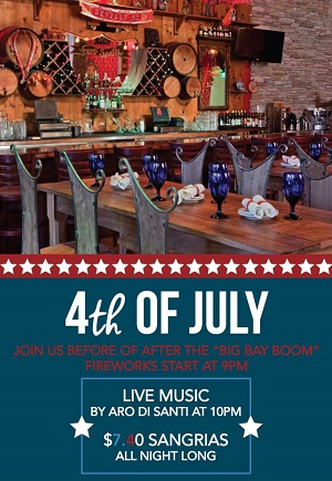 downtown san diego gaslamp quarter fourth of july cafe sevilla