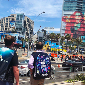 Comic Con Recap outside 300x300