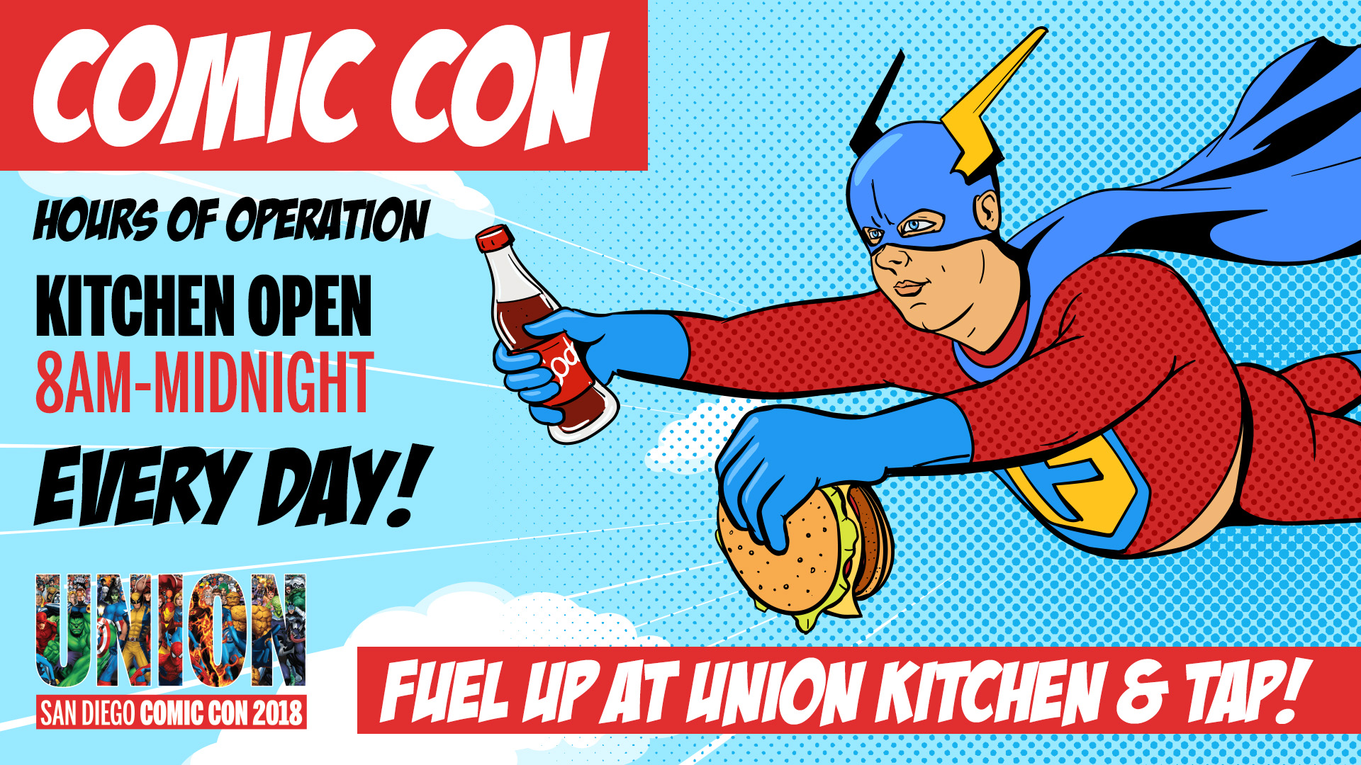 downtown san diego gaslamp quarter comic-con union kitchen and tap