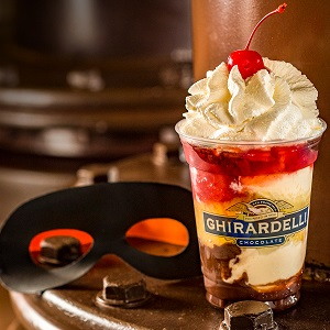 Ghirardelli-Incredible-Sundae-comic-con-2018 gaslamp san diego