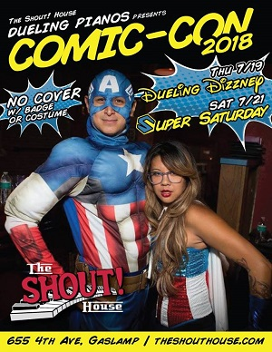 Shout-House-comic-con-2018-0719-0721 gaslamp san diego