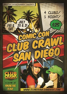 comic-con-2018-club-crawl-0720-0721-1 gaslamp san diego