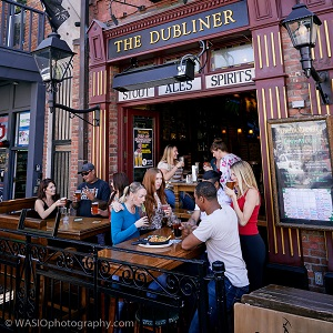 downtown san diego gaslamp quarter world cup the dubliner