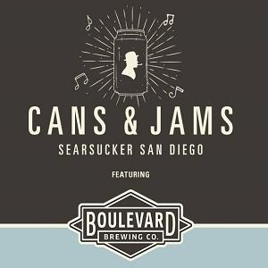 Cans & Jams- Searsucker San Diego
