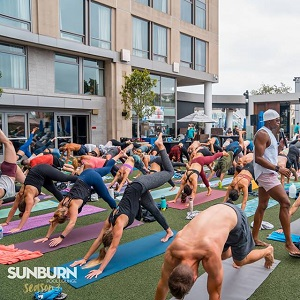 downtown san diego gaslamp quarter things to do float sunburn fitness