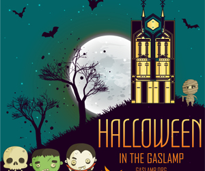 Treat Yourself to Halloween in the Gaslamp Quarter