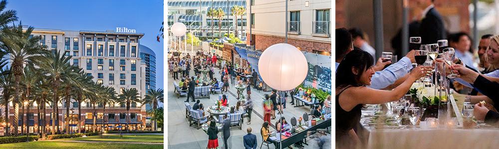 downtown san diego gaslamp quarter venue spaces hilton