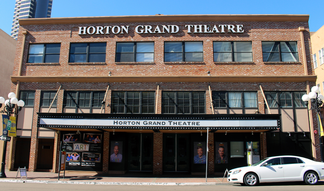 downtown san diego gaslamp quarter horton grand theatre history talk