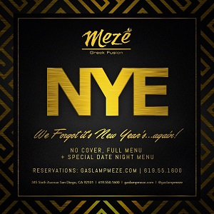 downtown san diego gaslamp quarter new year meze greek fusion