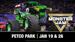 downtown san diego gaslamp quarter things to do monster jam