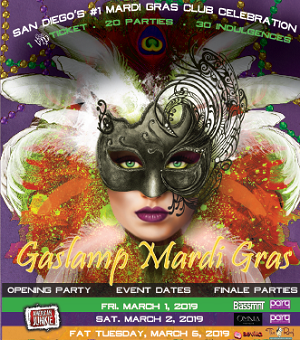 downtown san diego gaslamp quarter mardi gras