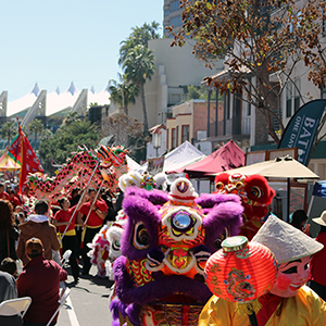 downtown san diego gaslamp quarter chinese new year festival