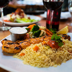 downtown san diego gaslamp quarter date night meze greek fusion