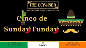 downtown san diego gaslamp quarter cinco de mayo dubliner