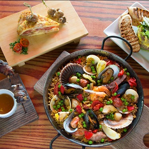 Get excited for the Taste of Gaslamp with this exquisite Paella Valenciana Recipe from Café Sevilla!