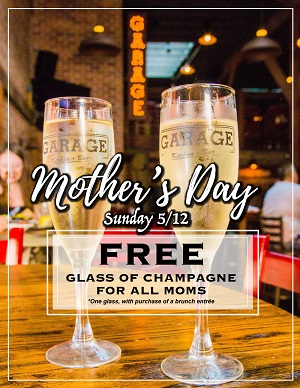 garage-kitchen-bar-mothers-day gaslamp san diego