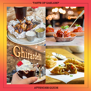 Guide to the 25th Annual Taste of Gaslamp presented by Karl Strauss