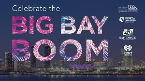downtown san diego gaslamp quarter fourth of july big bay boom