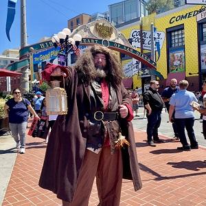 Hagrid at Comic Con