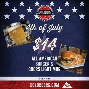 cold-beers-cheeseburgers-july-4 gaslamp san diego