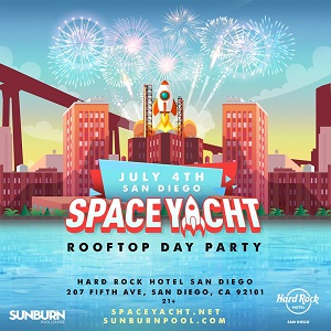 hard-rock-hotel-float-july-4 gaslamp san diego
