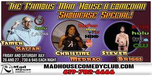 downtown san diego gaslamp quarter things to do mad house comedy club