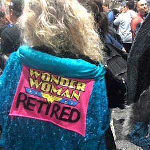 wonder woman retired