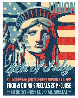 downtown san diego gaslamp quarter fourth of july union kitchen and tap