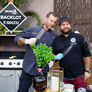 downtown san diego gaslamp quarter food network's chopped executive chef colten union and executive chef kevin barleymash cbs8