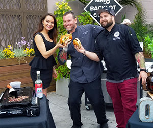 Gaslamp Chefs represent San Diego on Food Network's Chopped!