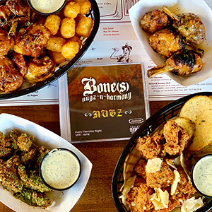 All You Can Eat Chicken at The Smoking Gun