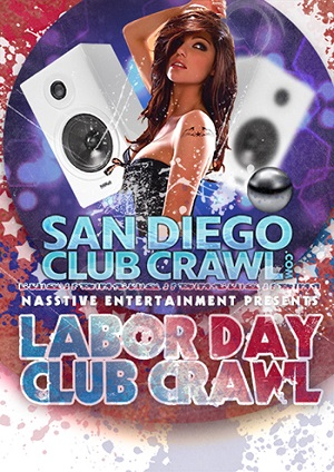 downtown san diego events gaslamp quarter things to do bar crawl labor day weekend