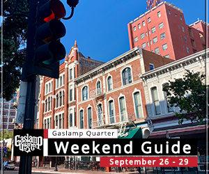 Things to do in the Gaslamp Quarter: September 26-29