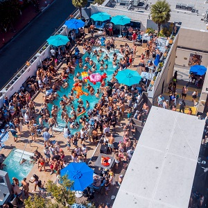downtown san diego events gaslamp quarter things to do hard rock hotel float