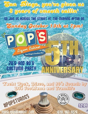 downtown san diego events gaslamp quarter things to do morning after pop's liquor cabinet