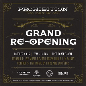downtown san diego events gaslamp quarter things to do prohibition