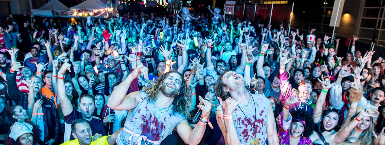 Downtown San Diego Gaslamp Special Events Baseball, Concerts, Mardi Gras, Block Parties