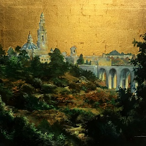 Tower under a golden sky - Duke Windsor