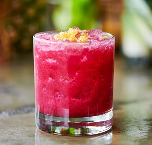 Beet juice cocktail