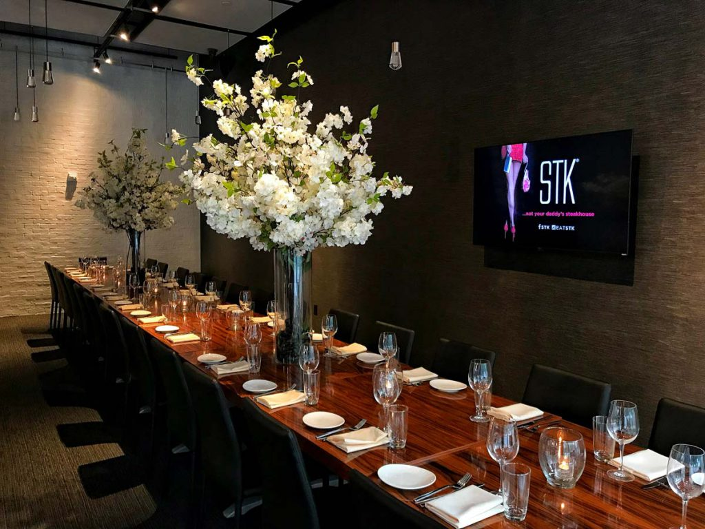 STK steakhouse preview