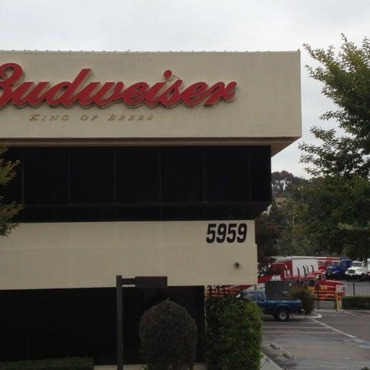Anheuser-Busch Sales of San Diego